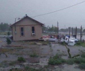 Caos y destrucción dejan las tormentas en Texas
