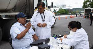 Sólo SCT  hará los exámenes médicos a traileros