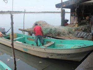 Rayo mata a pescador en Tamaulipas