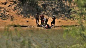 Salvan a bebé de morir ahogado en las aguas del Río Bravo