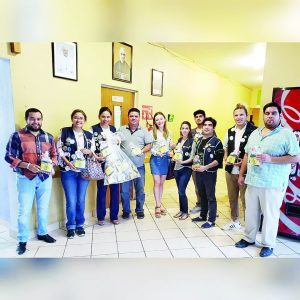 Donativo de Leones a Casa del Migrante