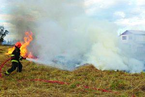 Atiende bomberos hasta 7 incendios en zacatales
