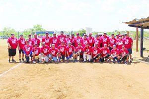 Selección Roja derrota en gran duelo a la Azul en juego de estrellas de la Liga Fronteriza Dominical