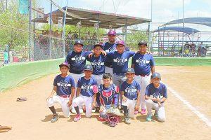 Los Yankees se proclaman campeones de playoffs de la categoría 9-10 años de la liga Tamaulipeca