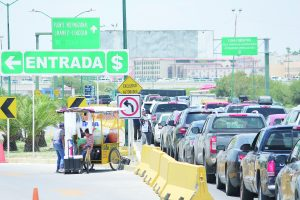 Demandan se cambie el SENTRI al Puente II