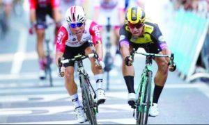 Alcanza Caleb Ewan primer  triunfo en el Tour