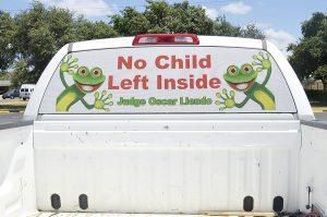 Alertan a no dejar niños en vehículos