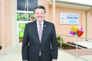 Presenta Pete Sáenz al puerto de Laredo competitivo