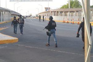 Buscan cubanos entrar a EU; cierran puente en Reynosa