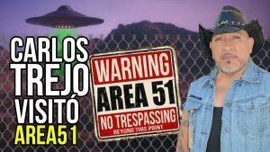 Estados Unidos me permitió entrar al área 51; Carlos Trejo