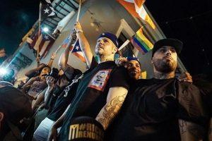 Celebran artistas renuncia del gobernador de Puerto Rico
