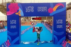 Da Grajales otro oro a México en triatlón en Juegos Panamericanos