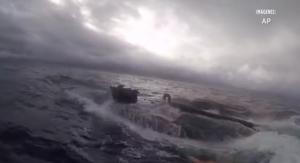 VIDEO: Incauta EU 17 toneladas de coca en submarino