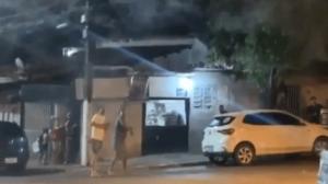 VIDEO: Ataca a sus vecinos con un dron