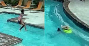 Niña de 10 años salva a su hermanita de ahogarse