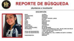 Desaparece joven de 16 años en Nuevo León