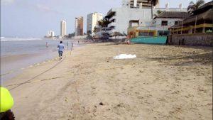 Muere menor ahogada frente a su madre en playa de Matamoros