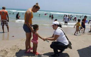 En un día se pierden 30 niños en Playa Miramar