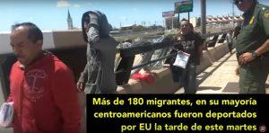 Trump deporta a centroamericanos por frontera mexicana