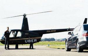 Uber estrena servicio aéreo