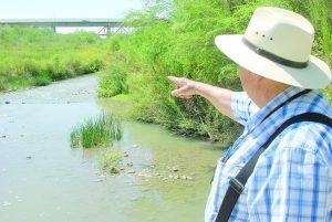 'Desaparece' el río Salado