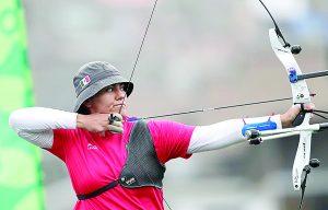 Alejandra Valencia cumple los pronósticos y gana la prueba de tiro con arco recurvo