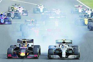 Lewis Hamilton le arrebata victoria a Max Verstappen en Hungría