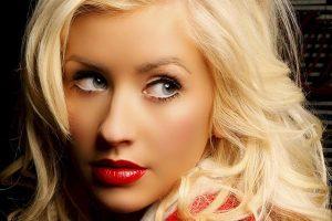 Así luce Christina Aguilera sin maquillaje
