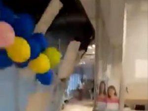 Colapsa techo de hospital del ISSSTE en Acapulco