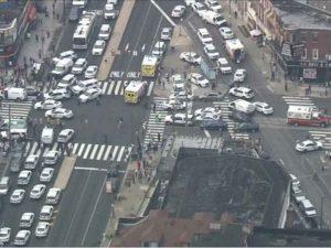 Imágenes del tiroteo registrado en Filadelfia, EU