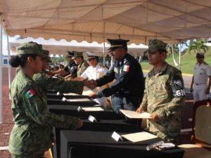 Se gradúan en Tamaulipas 186 elementos de Guardia Nacional