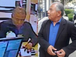 Arrestan a abuelito que robaba bancos