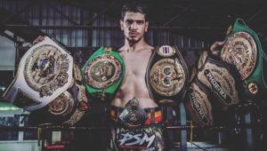 Termina en el hospital tras intentar robarle a campeón mundial de Muay Thai