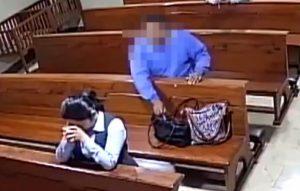 Captan a hombre persignándose tras robar dentro de iglesia