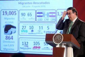 Rescatan a 46 mil migrantes en dos meses
