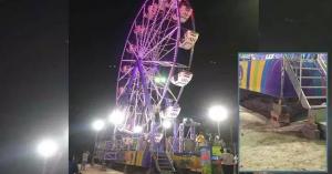 Juegos mecánicos mortales en la expo feria de Reynosa