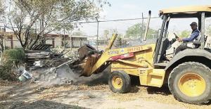 Reinician las obras en jardín de niños