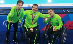 México arrasa en los 200 libres de los Parapanamericanos; hace el 1-2-3