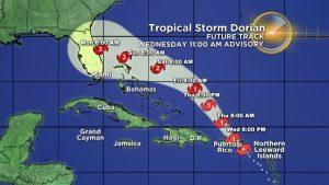 Huracán Dorian se fortalece y podría afectar a EU como categoría 4