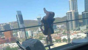 Joven que cayó de 25 metros en NL practicaba yoga 'extremo'