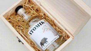 'Atomik', un vodka con granos de Chernobyl