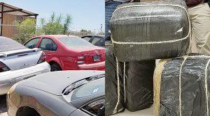 Decomisan 200 libras de droga en Laredo