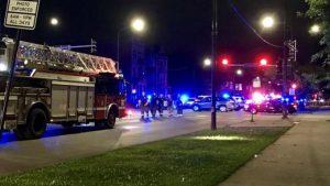 Nueve heridos tras tiroteo en Chicago