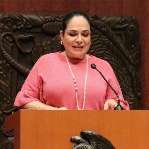 Una mujer a la presidencia del Senado de la República