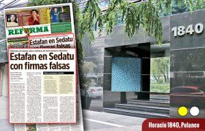 Detectan a Rosario Robles 'fábricas' de estafa