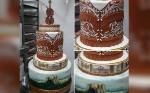 Con pastel, chef resalta identidad de Tamaulipas