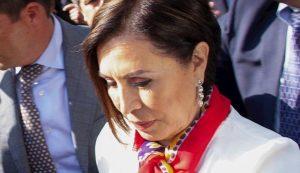 Rosario Robles lloró y suplicó  a juez por su libertad