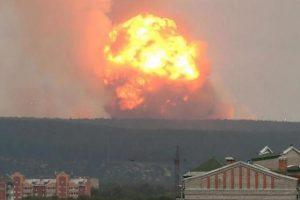 Temor a un nuevo Chernóbil tras explotar misiles rusos
