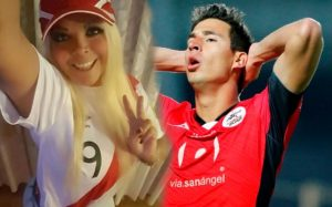 Modelo peruana revela mensajes íntimos con jugador de Xolos