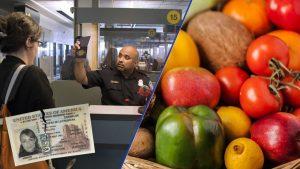¡Cuidado fronterizos! CBP quitará visa por pasar frutas y verduras a EU